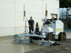 Masterscreed TS100 High Performance Laser guided screed